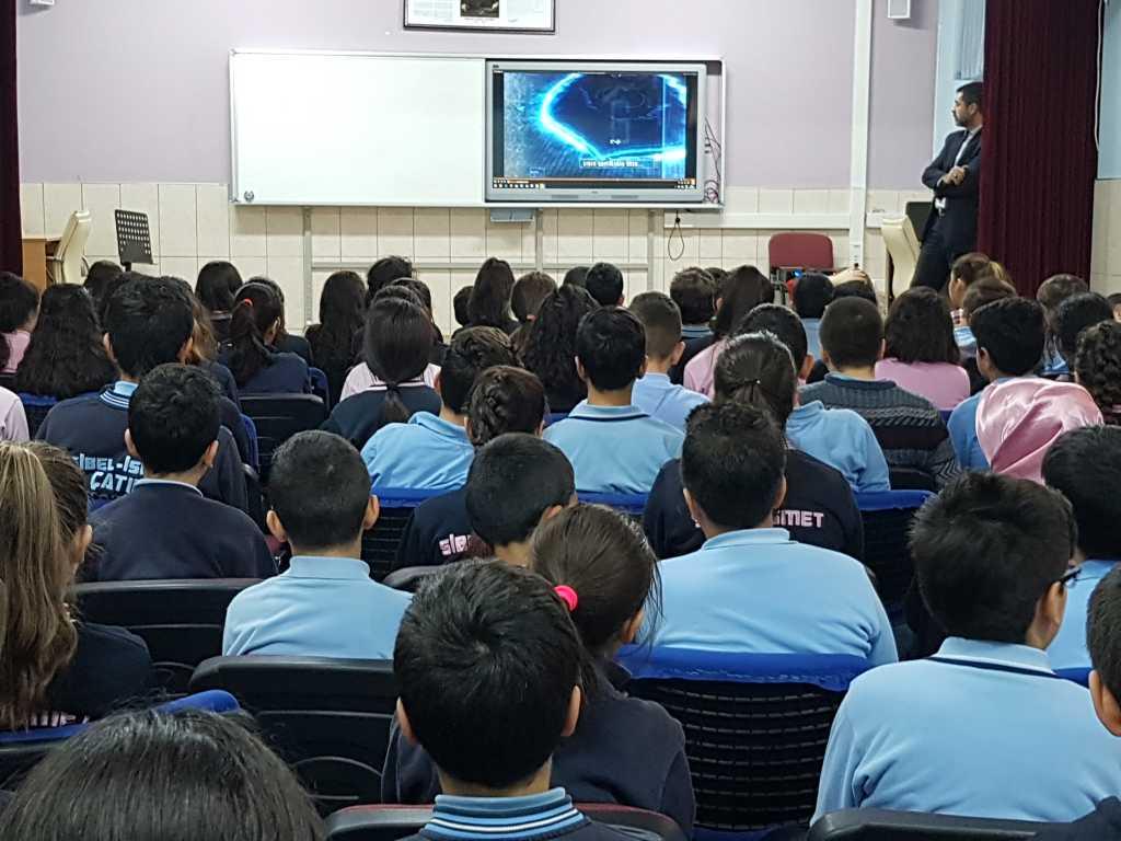 Ankara Sibel İsmet Çatık Ortaokulu Bilinçli ve Güvenli İnternet Semineri