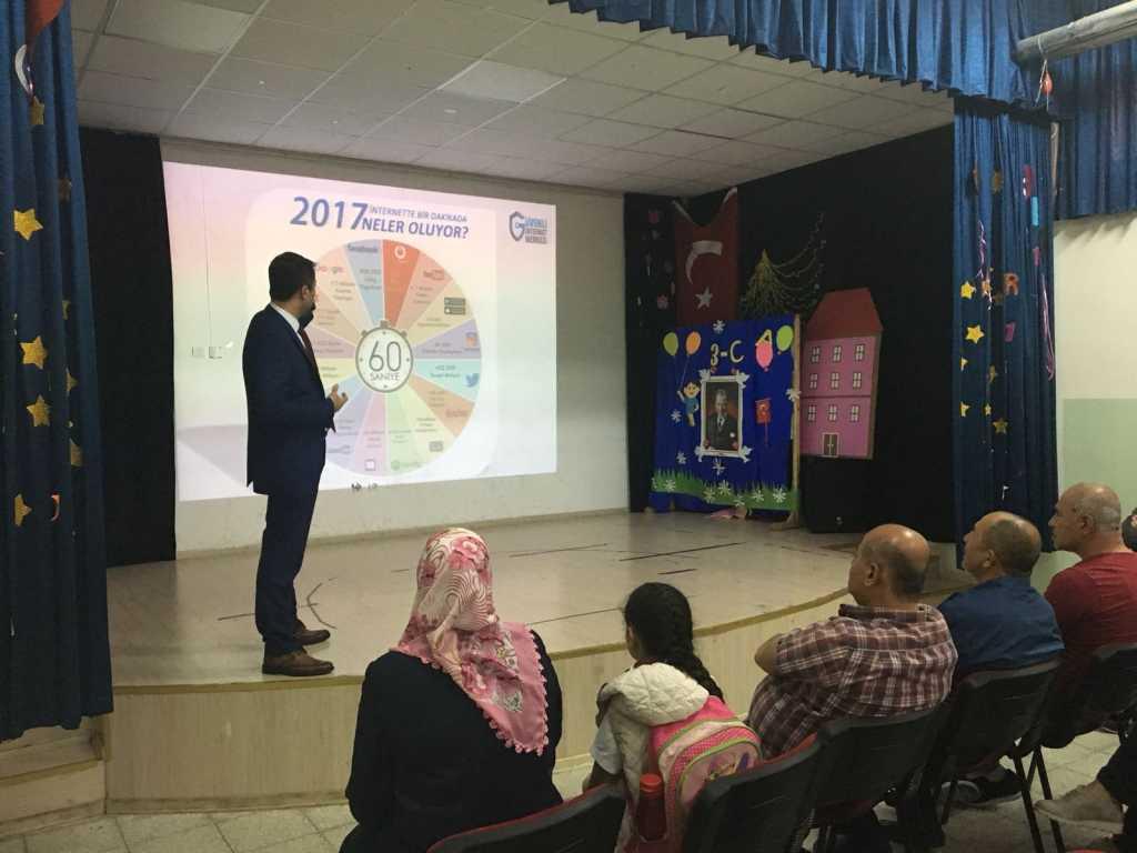 Ankara Sincan Dr. Nurettin Beyhan Elbir İlkokulu Ebeveynler İçin Bilinçli ve Güvenli İnternet Semineri
