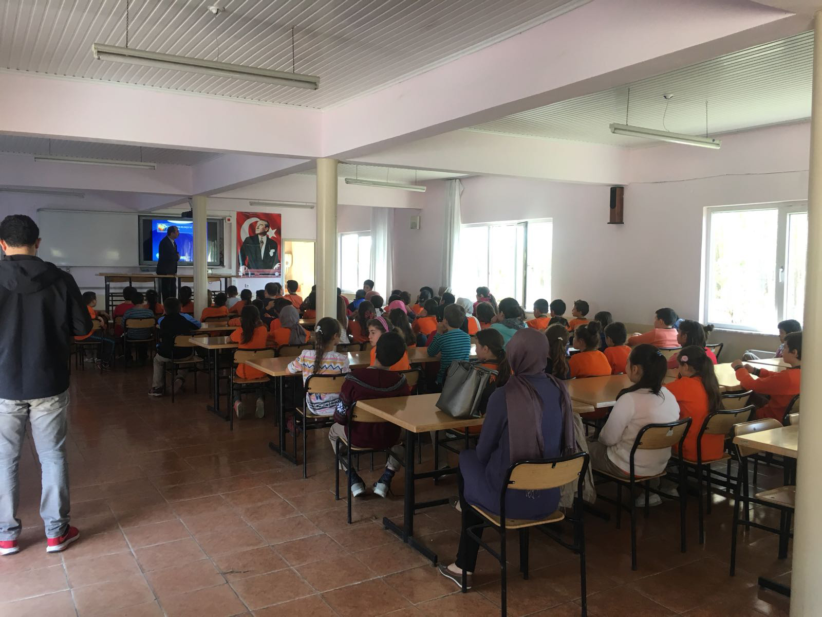 Samsun Çarşamba - Ahubaba Ortaokulu'nda Bilinçli ve Güvenli İnternet Semineri