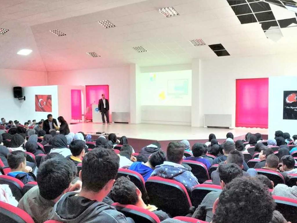 Mersin Silifke Anadolu İmam Hatip Lisesi, Bilinçli Ve Güvenli İnternet Semineri
