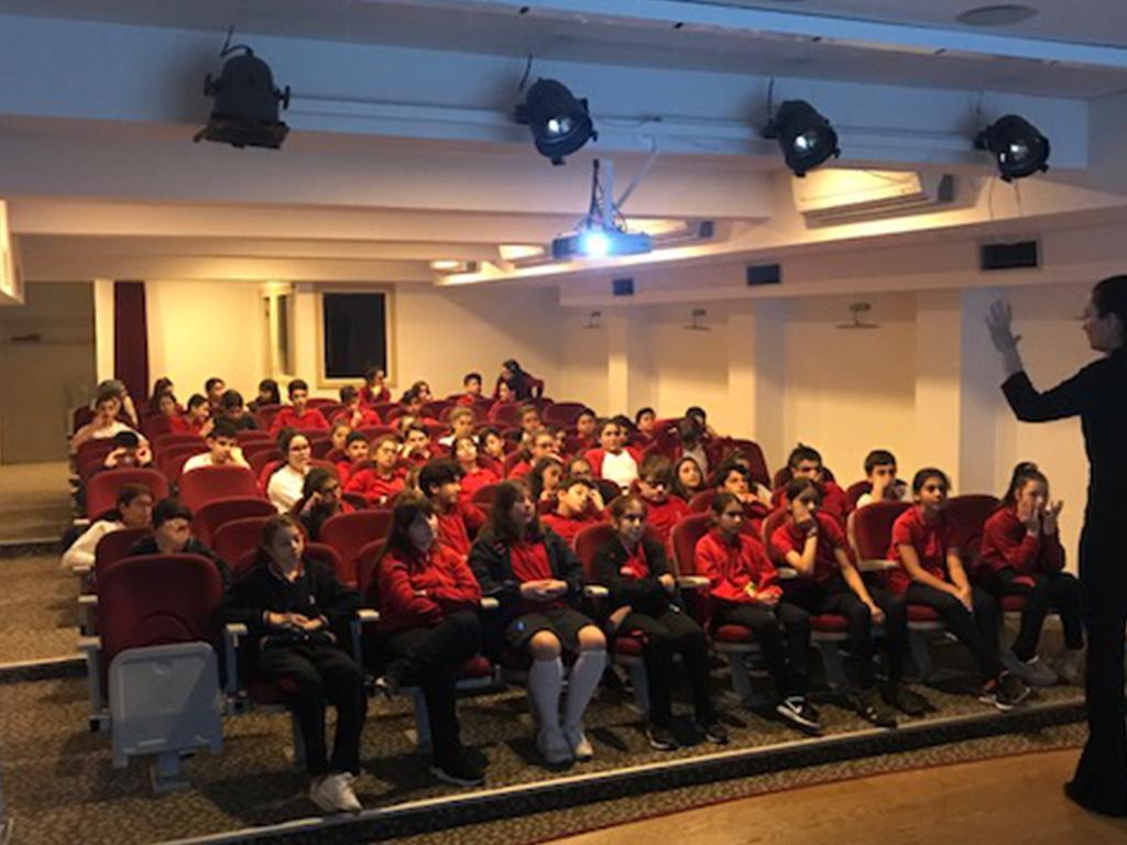 İstanbul Beykoz Sedat Semavi Ortaokulunda, Bilinçli ve Güvenli İnternet Semineri