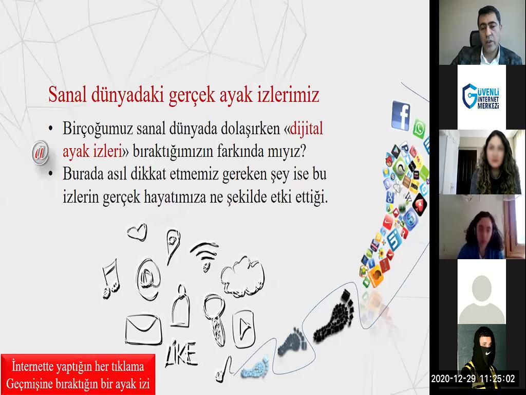 Ankara Çankaya Mutlukent Anadolu Lisesi Öğrencilerine Yönelik Online Eğitim