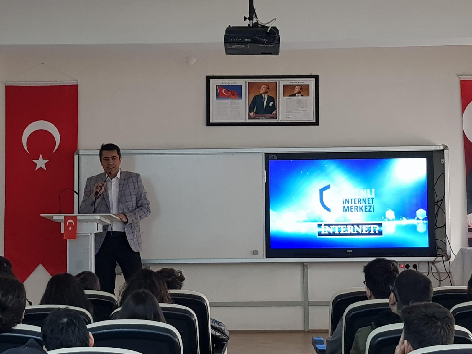 Ankara Yenimahalle Batıkent Lisesi, Bilinçli Ve Güvenli İnternet Semineri