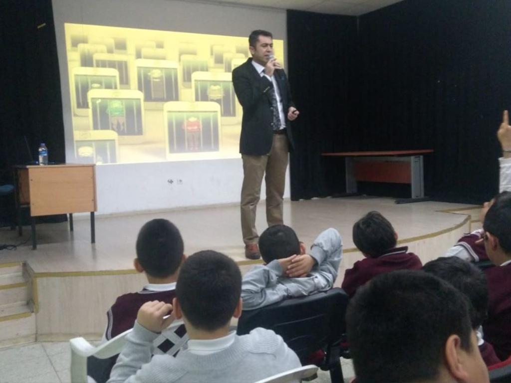 Ankara Sincan Dr. Nurettin Beyhan Elbir İlkokulunda, Bilinçli Ve Güvenli İnternet Semineri