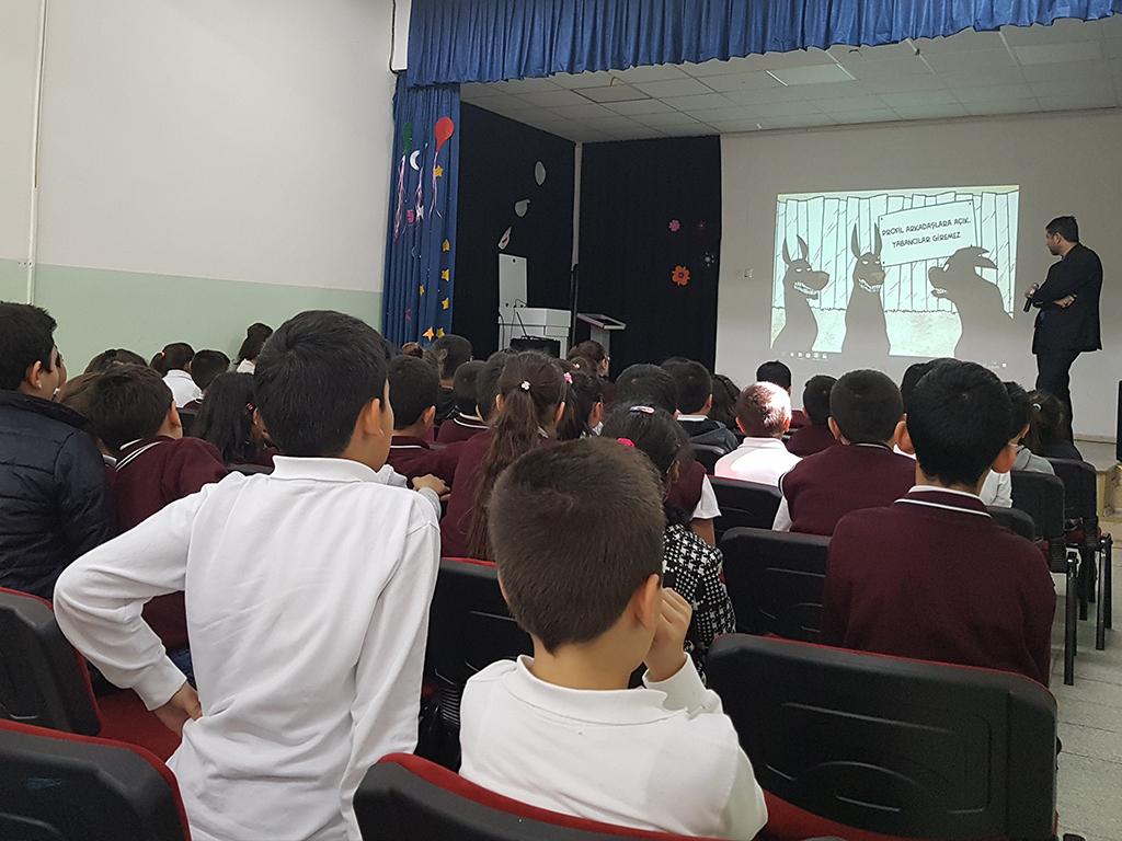 Ankara Sincan Dr. Nurettin Beyhan Elbir İlkokulu'nda Bilinçli ve Güvenli İnternet Semineri