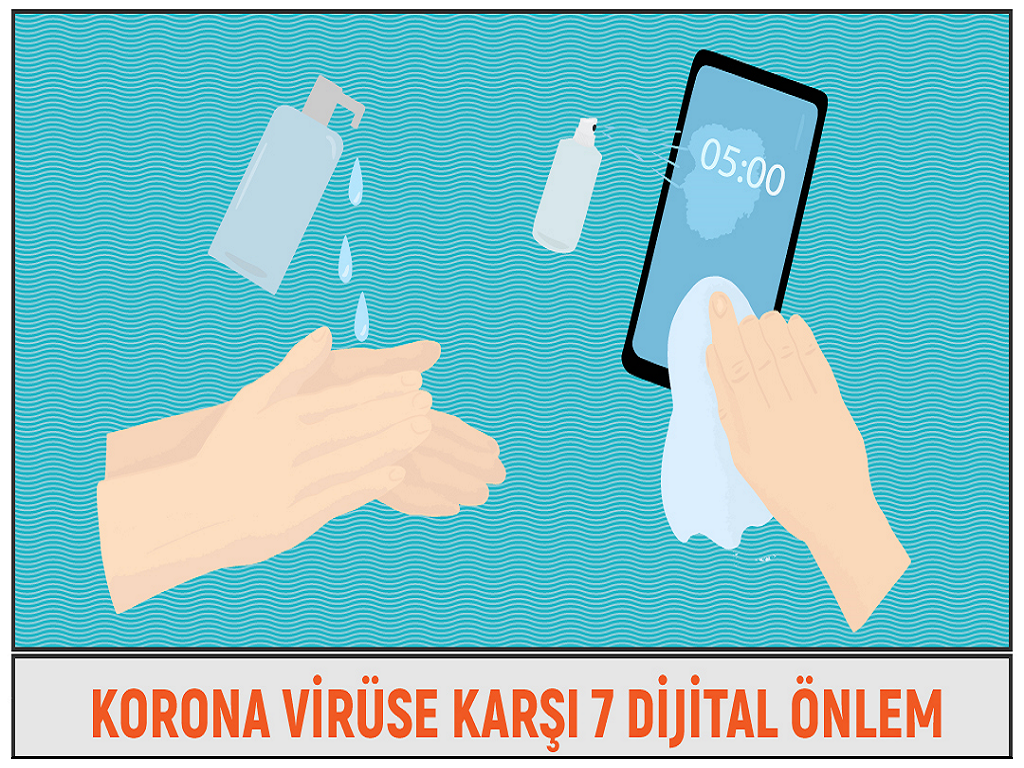 Korona Virüse Karşı 7 Dijital Önlem
