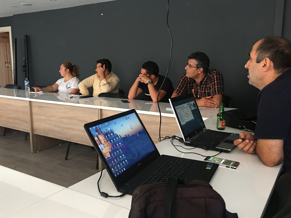 Samsun Alaçam Kaymakamlığı'nda Bilgi Güvenliği ve İnternetin Bilinçli Kullanımı Eğitimi