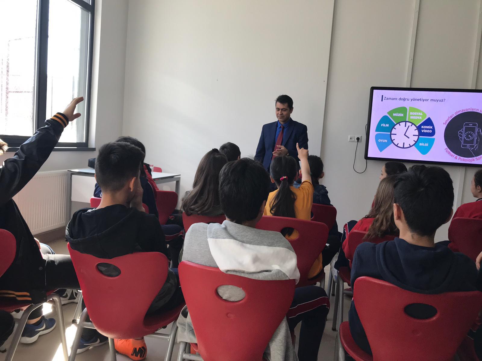 Ankara Yenimahalle Batıkent Öncü Koleji, Bilinçli Ve Güvenli Semineri