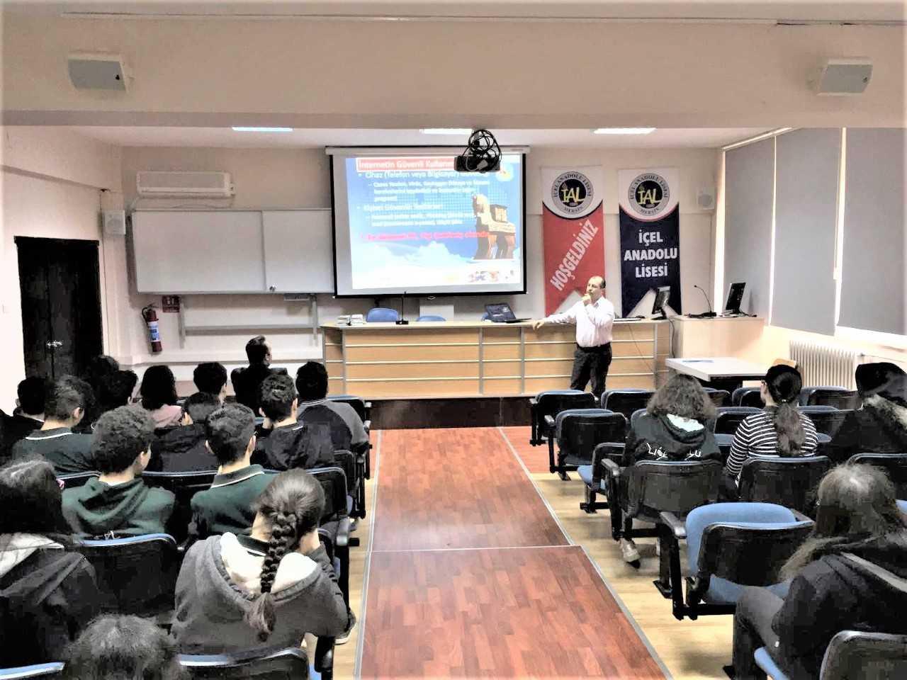 Mersin Mezitli İçel Anadolu Lisesi, Bilinçli Ve Güvenli İnternet Semineri
