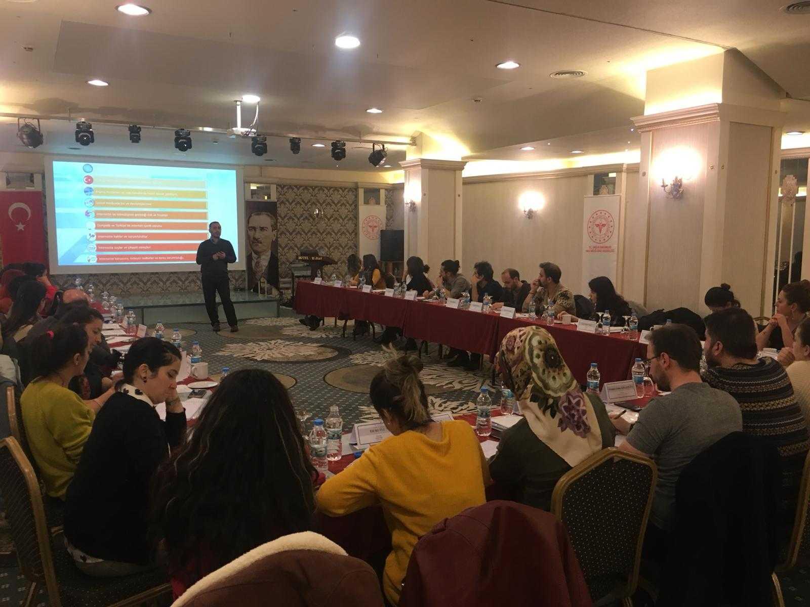 Ankara Sağlık Bakanlığı Davranışsal Bağımlılıkla Mücadele Programı