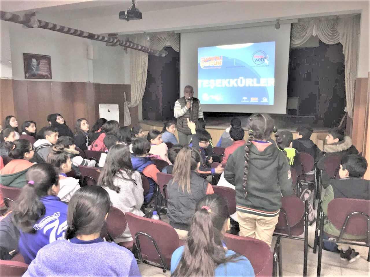Mersin Mezitli Viranşehir 75. Yıl Ortaokulunda Bilinçli Ve Güvenli İnternet Semineri
