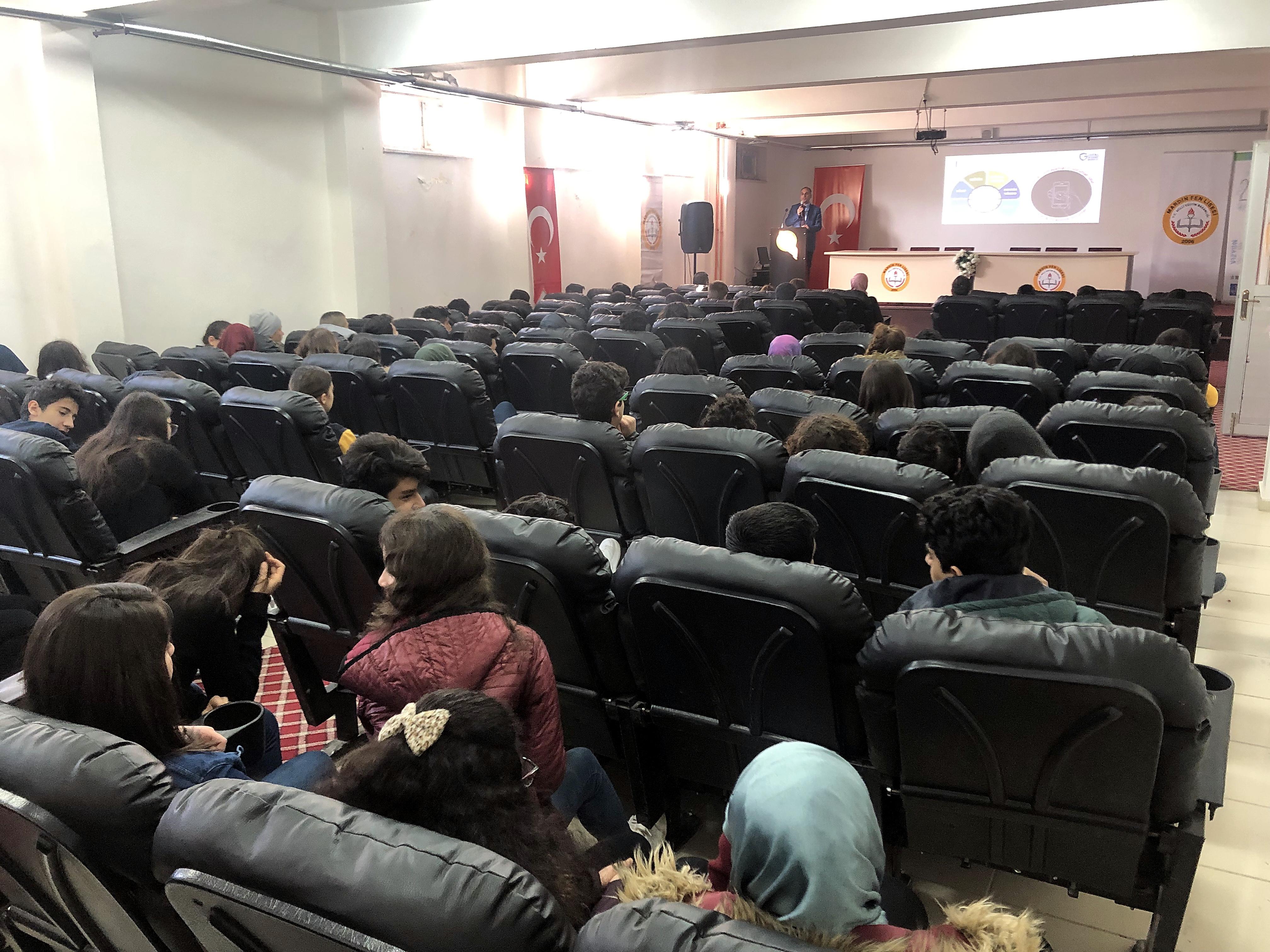 Mardin Fen Lisesi, Bilinçli Ve Güvenli İnternet Semineri
