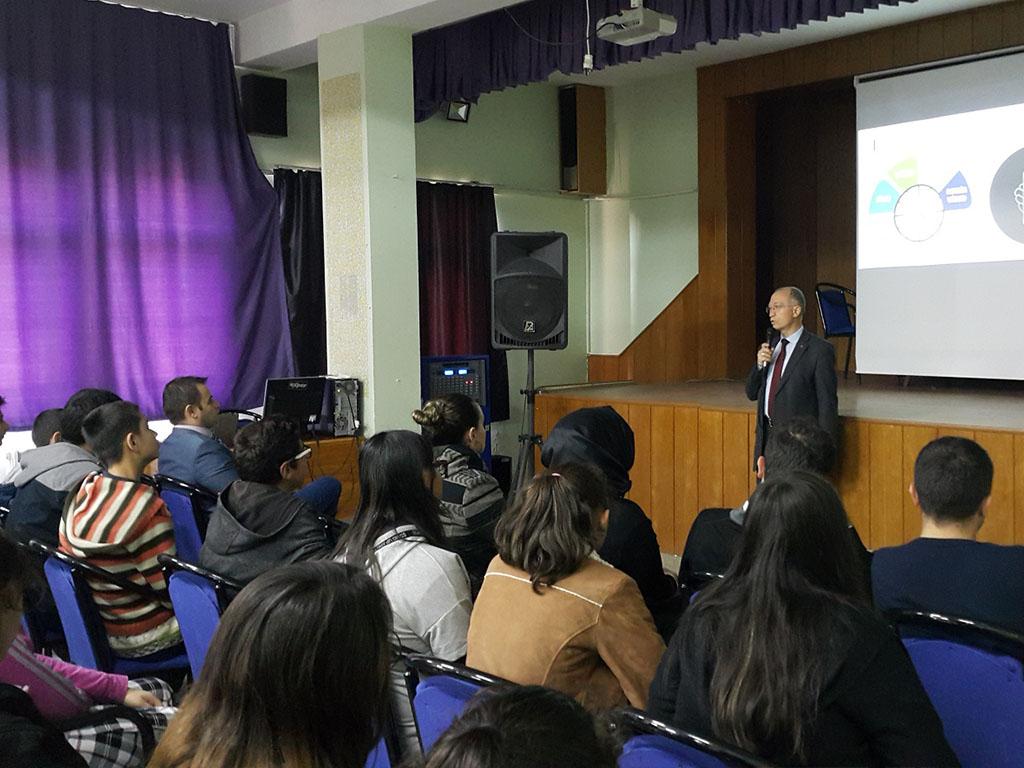 Uşak Ulubey İlçe Milli Eğitim Müdürülüğü Bünyesinde Ortaokullara Seminer