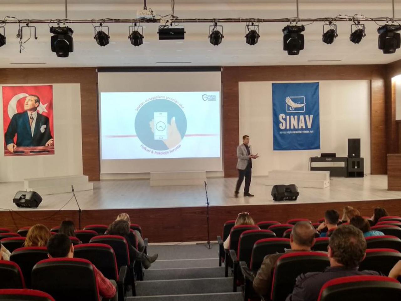 Ankara Etimesgut Eryaman Sınav Kolejinde, Bilinçli Ve Güvenli İnternet Semineri
