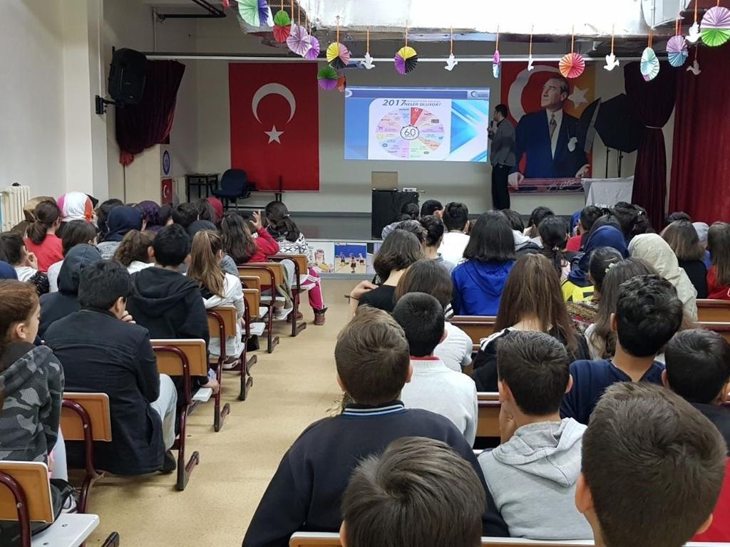 İstanbul Hayriye Gök Ortaokulu'nda Seminer