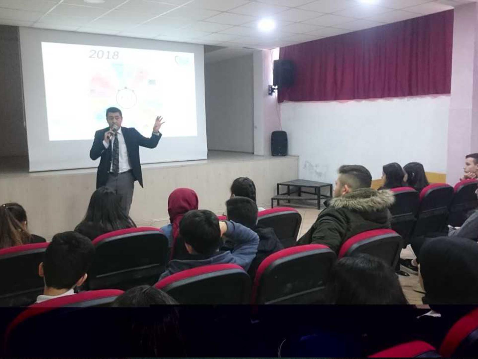 Ankara Yenimahalle Şentepe Şehit Volkan Canöz Anadolu Lisesi, Bilinçli Ve Güvenli İnternet Semineri
