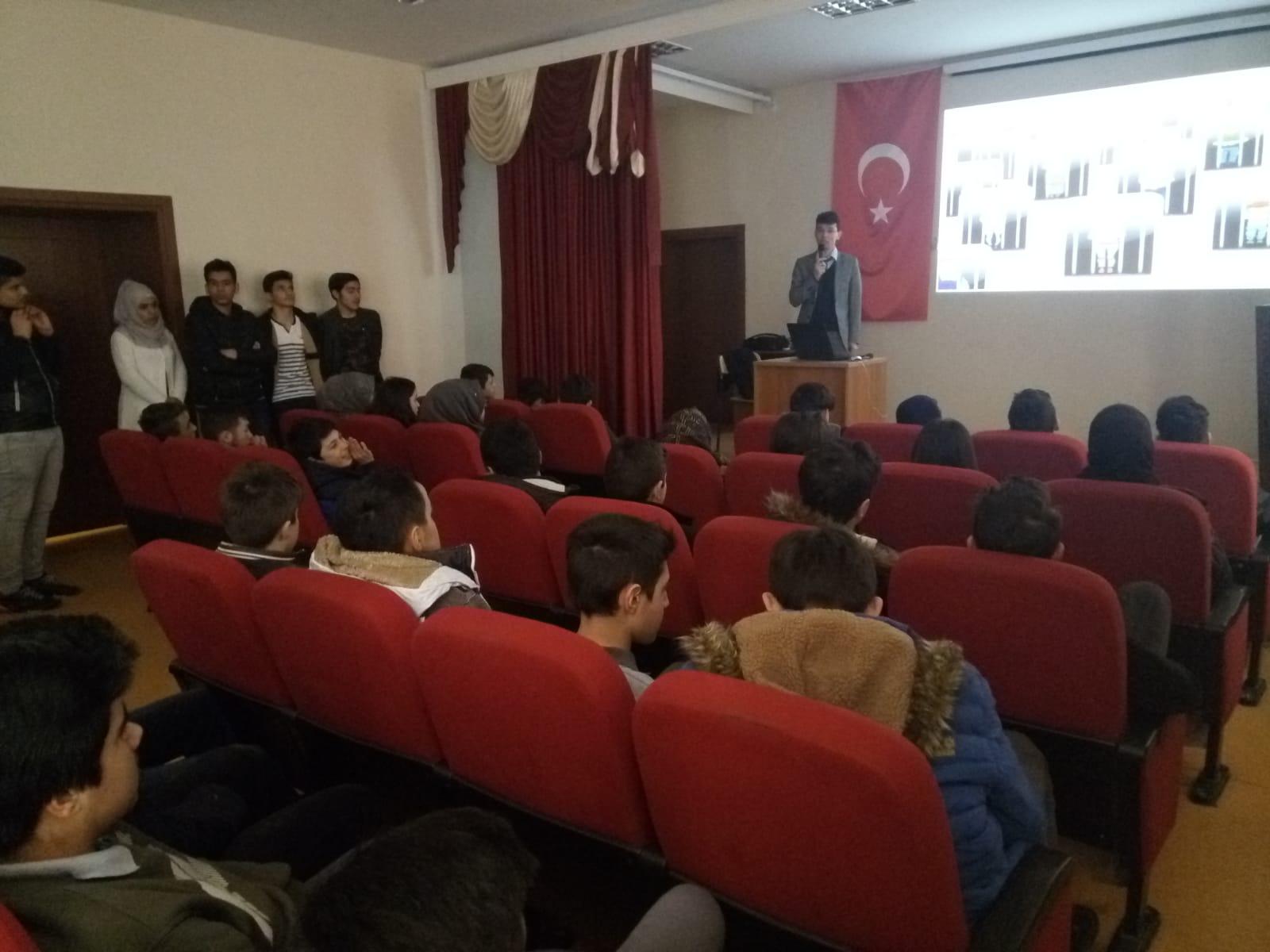 Kastamonu Mesleki ve Teknik Anadolu Lisesi, Bilinçli Ve Güvenli İnternet Semineri