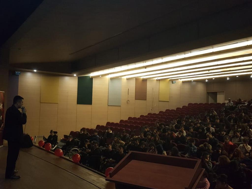 Ankara Çankaya Serçev Engelsiz Mesleki ve Teknik Anadolu Lisesi'nde Bilinçli ve Güvenli İnternet Semineri