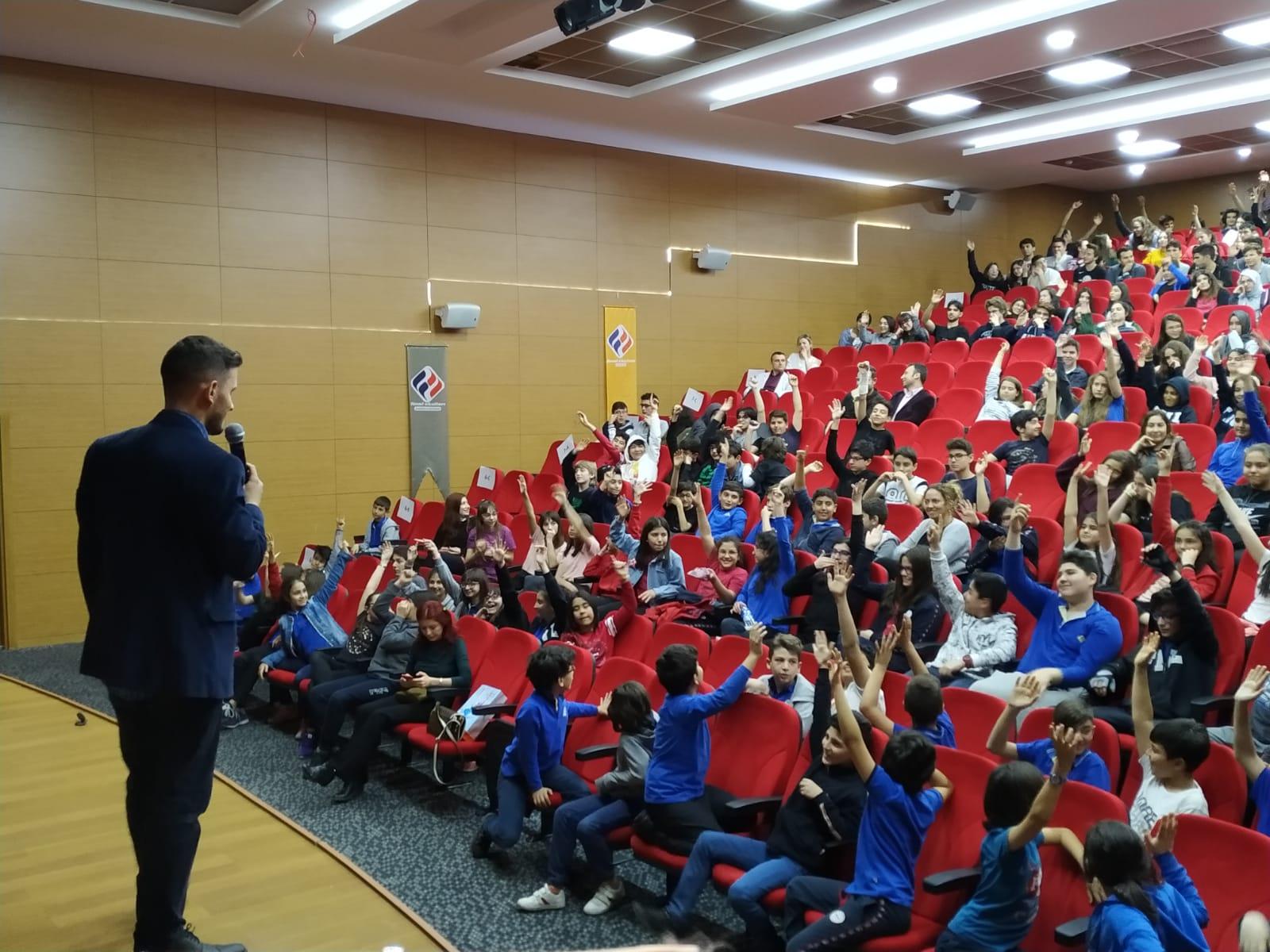 Ankara Çankaya Çayyolu final okullarında, Bilinçli Ve Güvenli İnternet Semineri