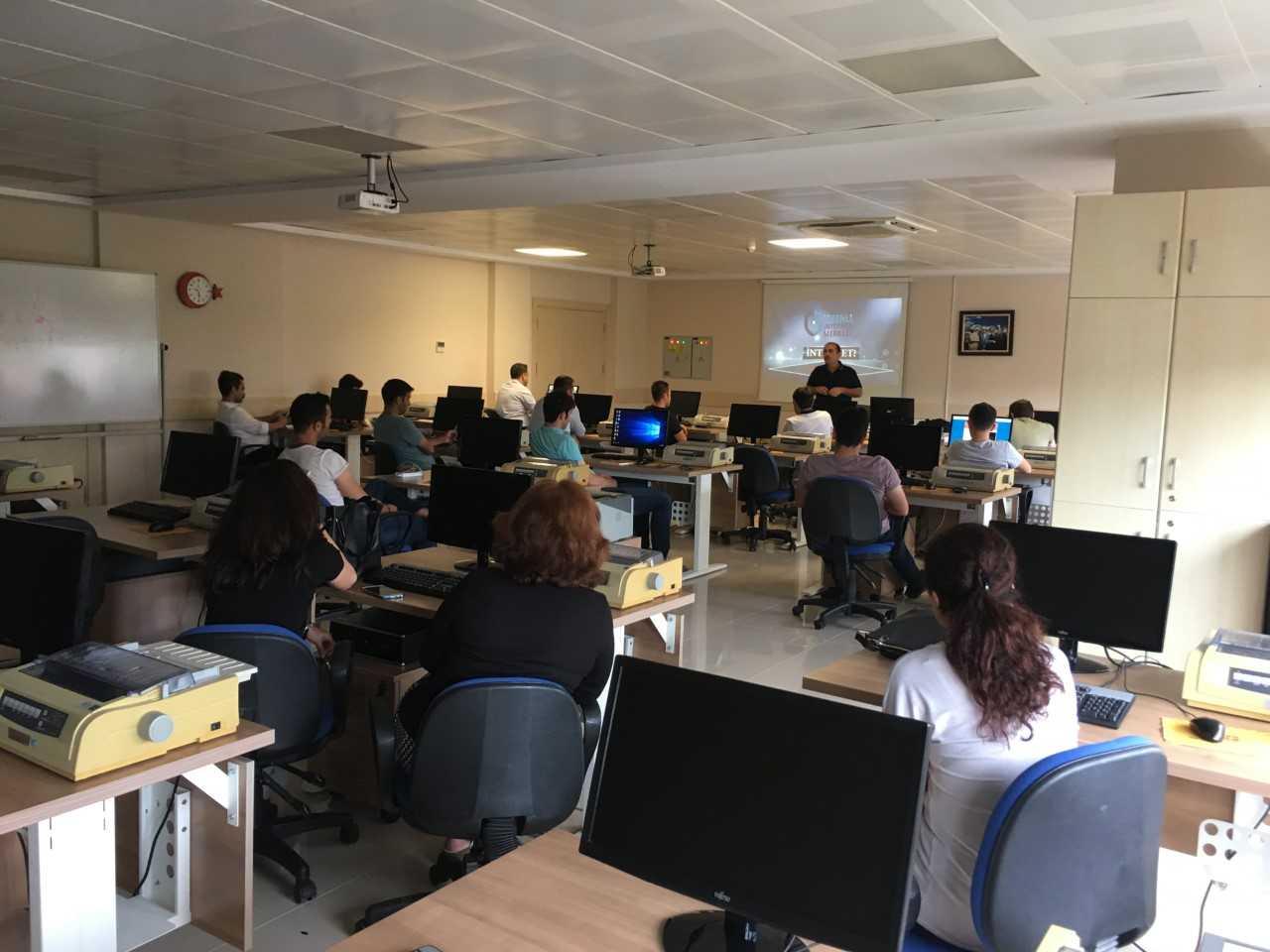 Samsun PTT Başmüdürlüğü Eğitim Tesislerinde, Bilinçli Ve Güvenli İnternet Semineri