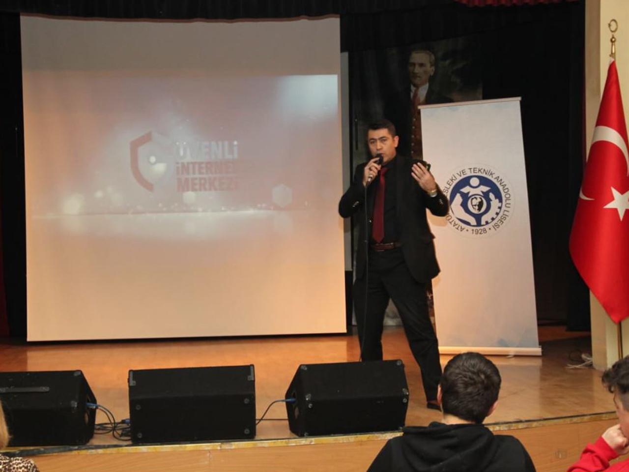 Ankara Altındağ Atatürk Mesleki ve Teknik Anadolu Lisesi, Bilinçli Ve Güvenli İnternet Semineri