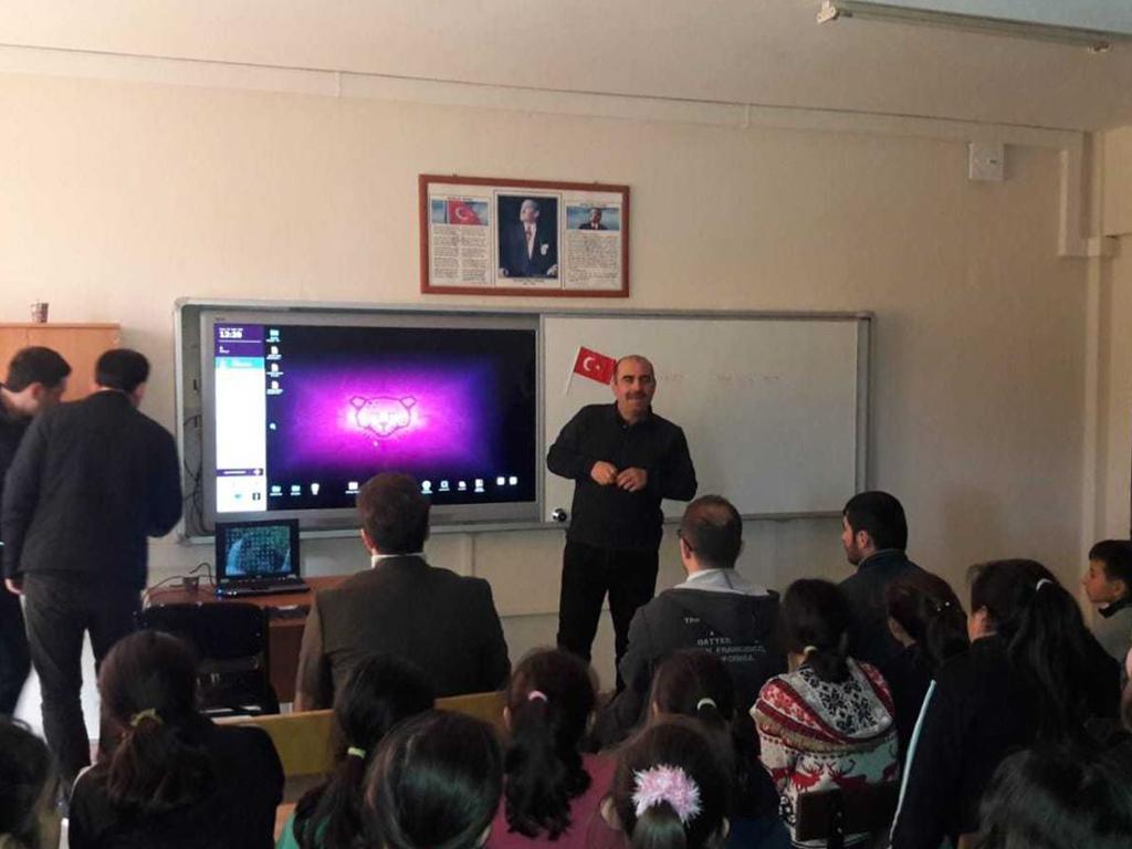 Samsun Bafra Doğanca Ortaokulu'nda Bilinçli Ve Güvenli İnternet Semineri