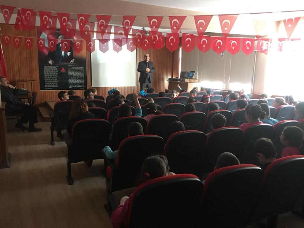 Samsun İlkadım - Kazım Özdemir İlkokulu'nda Bilinçli ve Güvenli İnternet Semineri