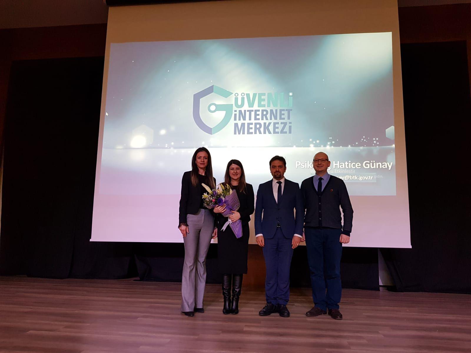 Ankara Keçiören Ovacık Sınav Koleji Ortaokulunda, Güvenli ve Bilinçli İnternet Semineri