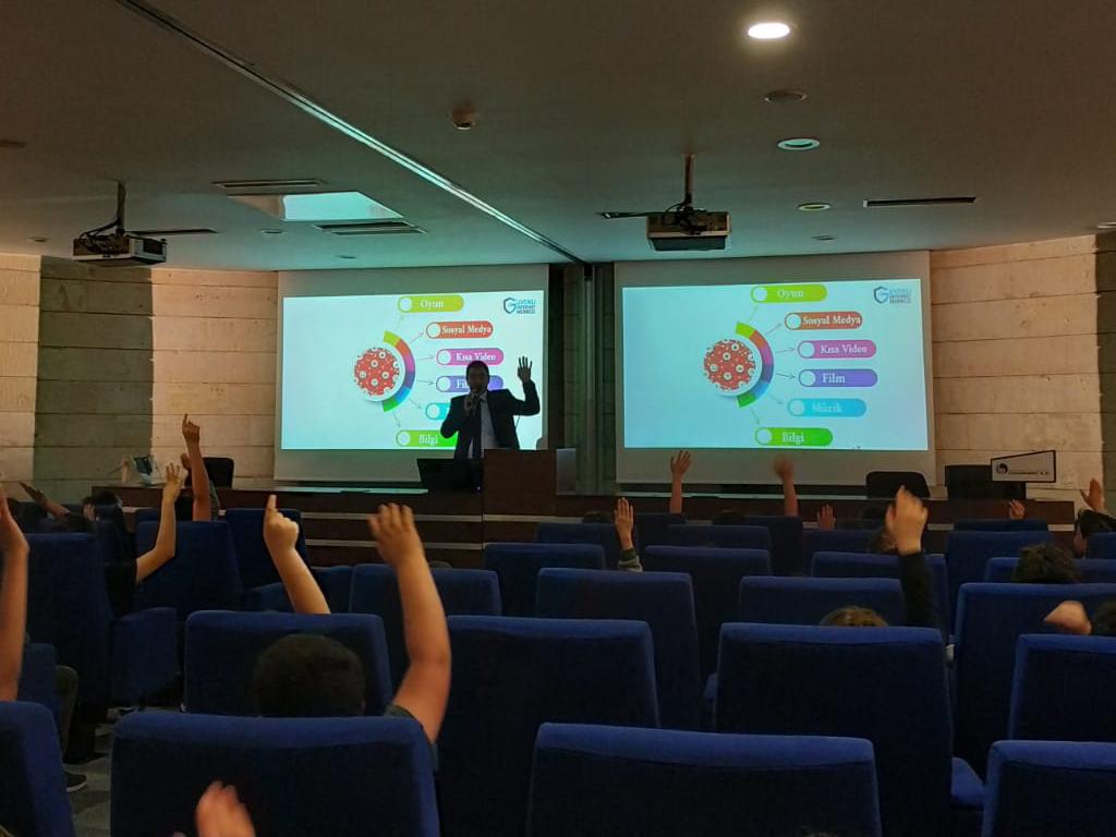 Ankara Çankaya - Beytepe Ortaokulunda, Bilinçli ve Güvenli İnternet Semineri