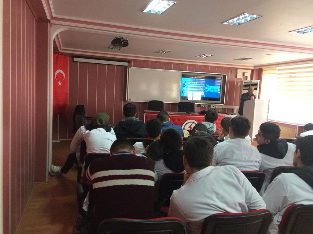 Tokat (Merkez) Tokat Mesleki ve Teknik Anadolu Lisesi, Bilinçli Ve Güvenli İnternet Semineri