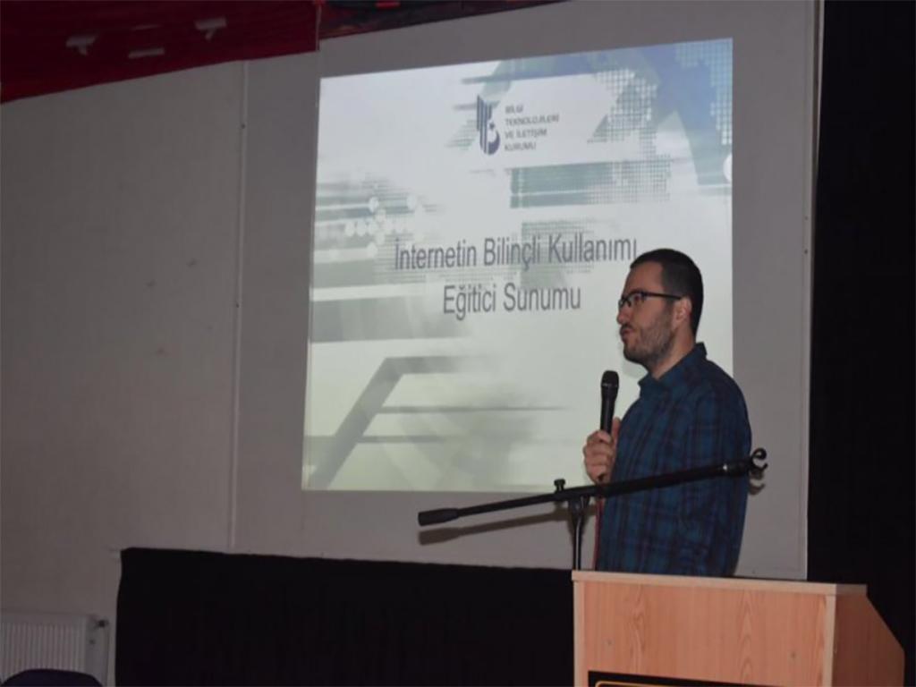 Etimesgut İlçe Milli Eğitim Müdürlüğü İnternetin Bilinçli Kullanımı Eğitimi