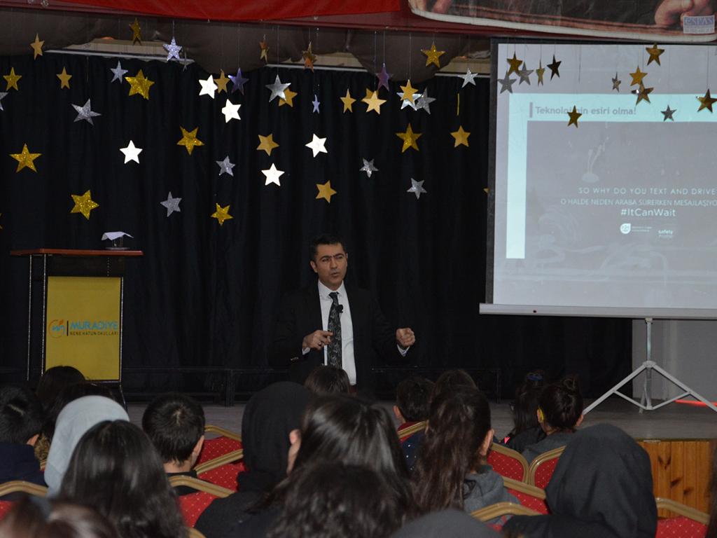Ankara Pursaklar Nene Hatun okullarında, Bilinçli Ve Güvenli İnternet Semineri