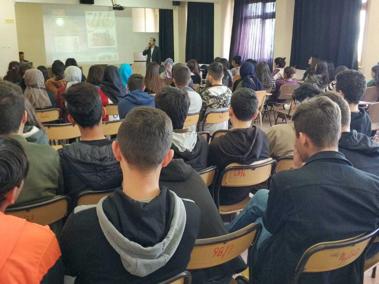 Mersin Mut Şehit Ali Gümüş Anadolu Lisesi, Bilinçli Ve Güvenli İnternet Semineri
