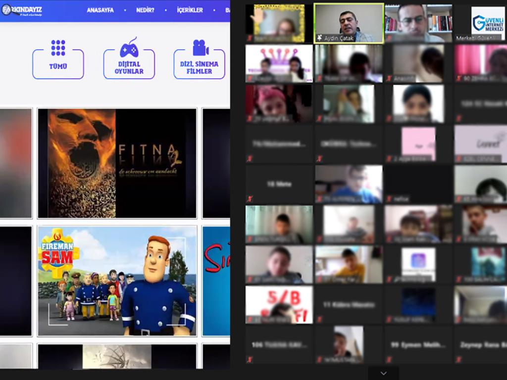 Kastamonu Anadolu İmam Hatip Lisesi Proje İmam Hatip Ortaokulu Öğrencilerine Yönelik Online Eğitim