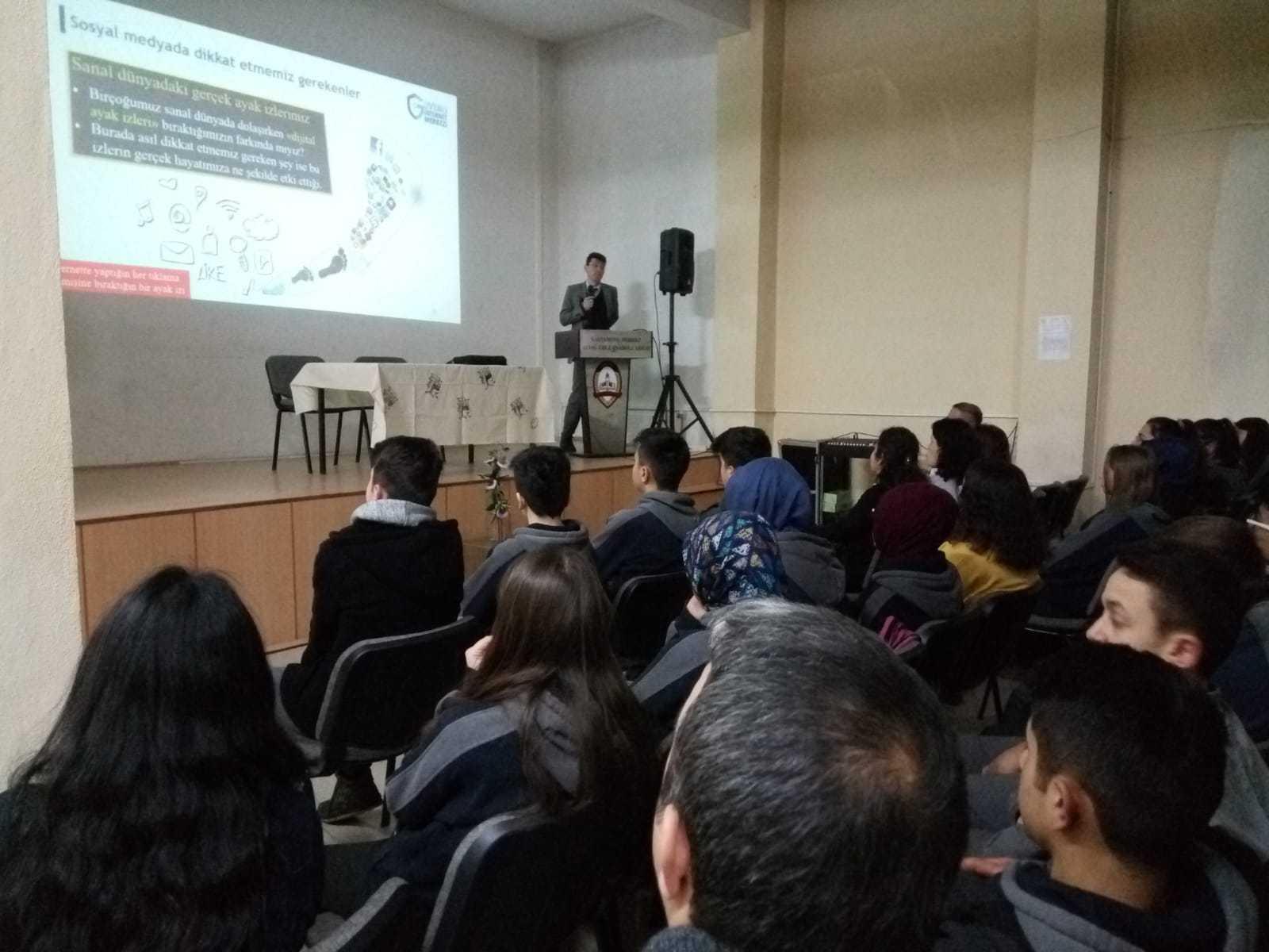 Kastamonu Mustafa Kaya Anadolu Lisesi, Bilinçli Ve Güvenli İnternet Semineri