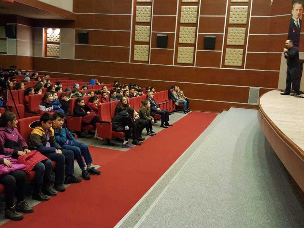 Artvin  Gazi Ortaokulu, Bilinçli Ve Güvenli İnternet Semineri