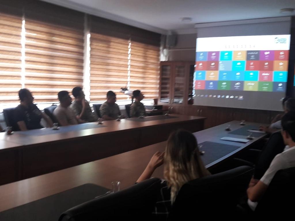 Trabzon Maçka Kaymakamlığı'nda Bilgi Güvenliği ve İnternetin Bilinçli Kullanımı Eğitimi