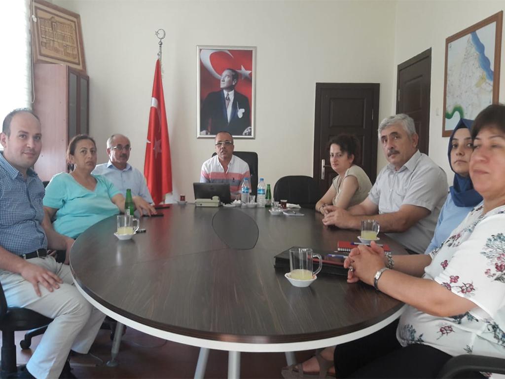 Sinop Gerze Kaymakamlığı'nda Bilgi Güvenliği ve İnternetin Bilinçli Kullanımı Eğitimi