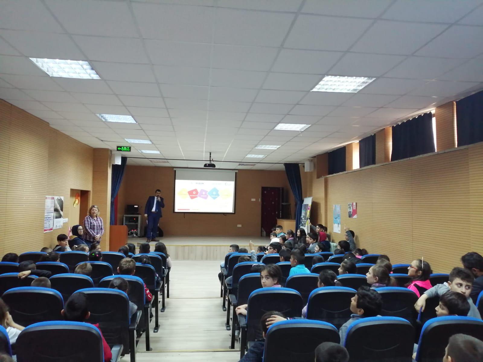 Ankara Ticaret Odası İlkokulu Öğrencilerine ve Velilere Seminer