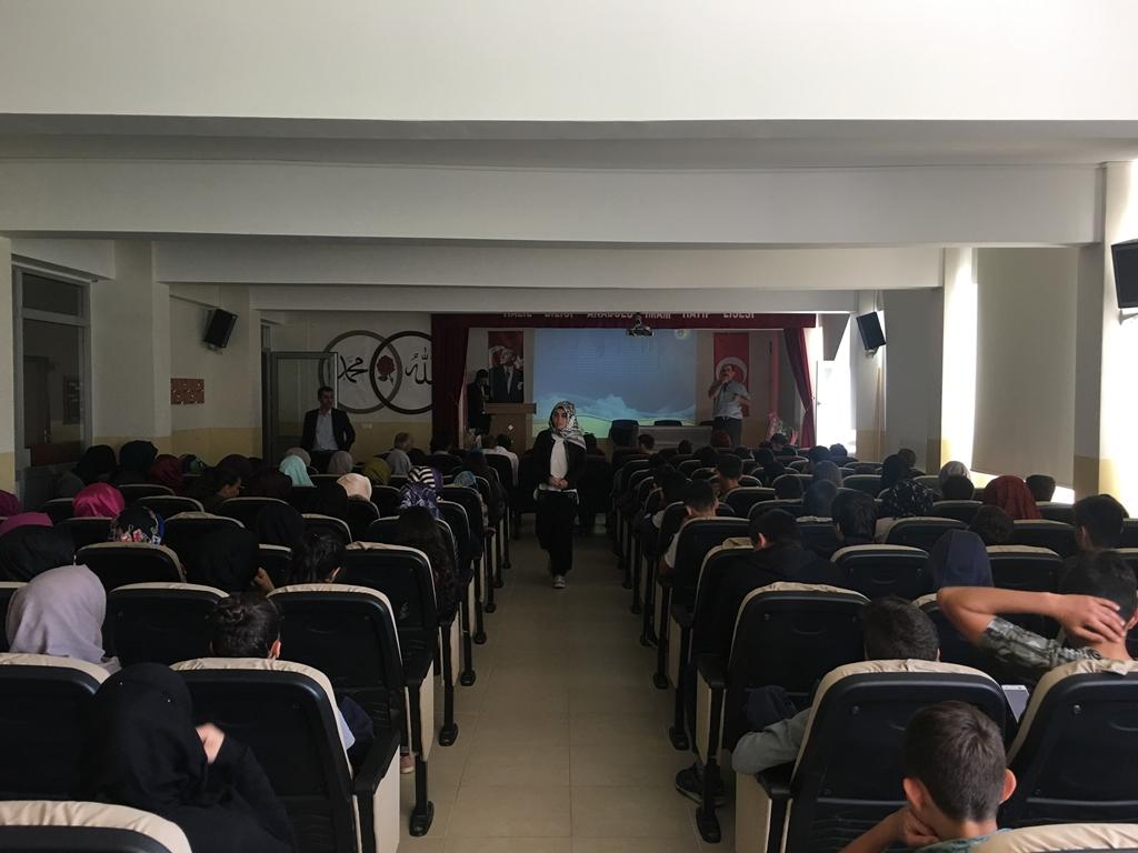 Samsun Asarcık'ta Lise Öğrencilerine Seminer