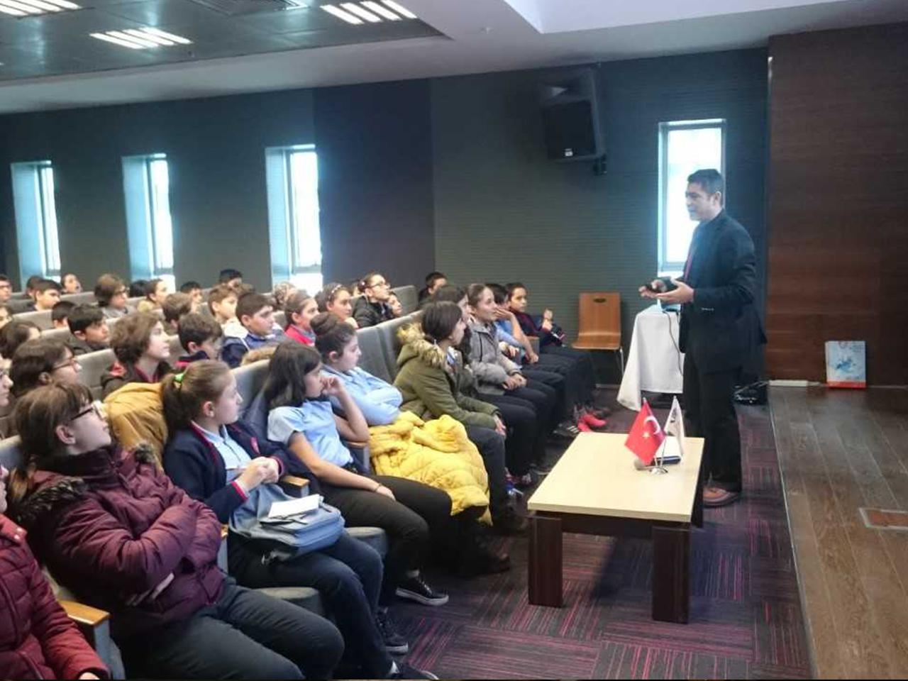 BTK, Ankara Cebeci Ortaokuluna, Bilinçli Ve Güvenli İnternet Semineri