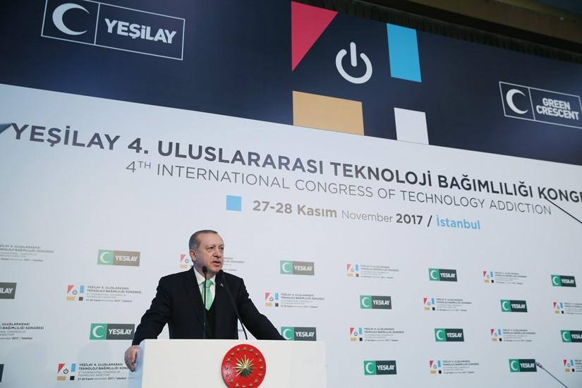 Yeşilay IV. Uluslararası Teknoloji Bağımlılığı Kongresi İstanbul'da Yapıldı