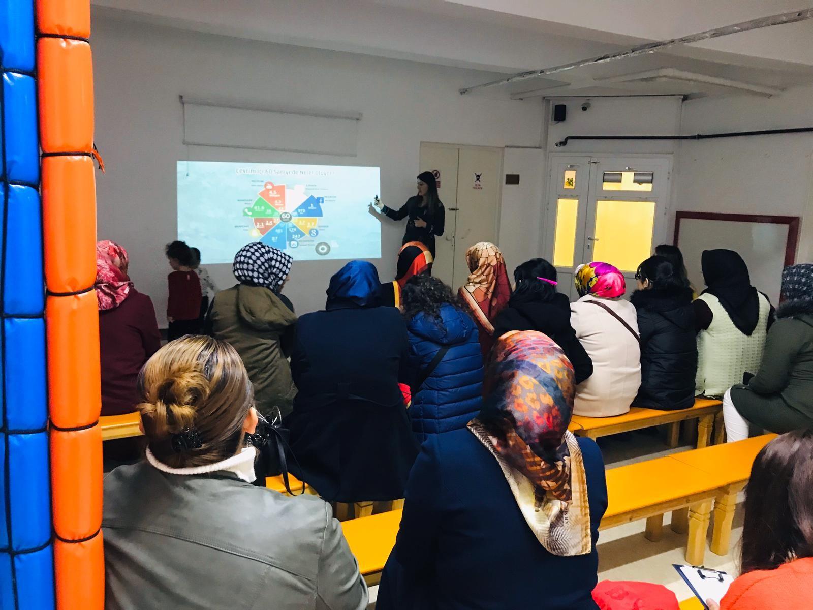 Ankara Etimesgut Şehit Akif Kapaklı Anaokulu Öğretmen ve Velilere Seminer