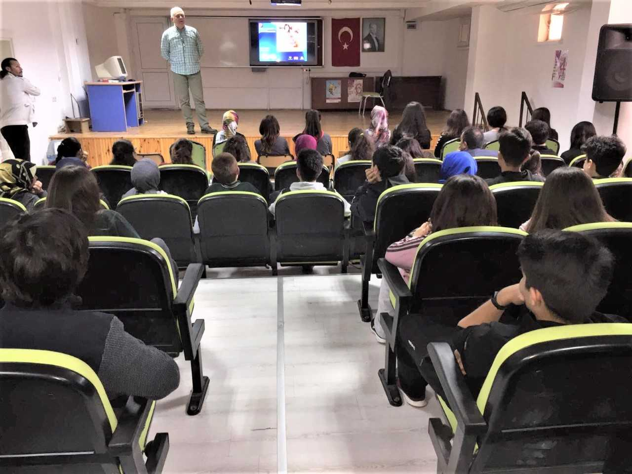 Mersin Erdemli ,Erdemli Anadolu Lisesi, Bilinçli Ve Güvenli İnternet Semineri
