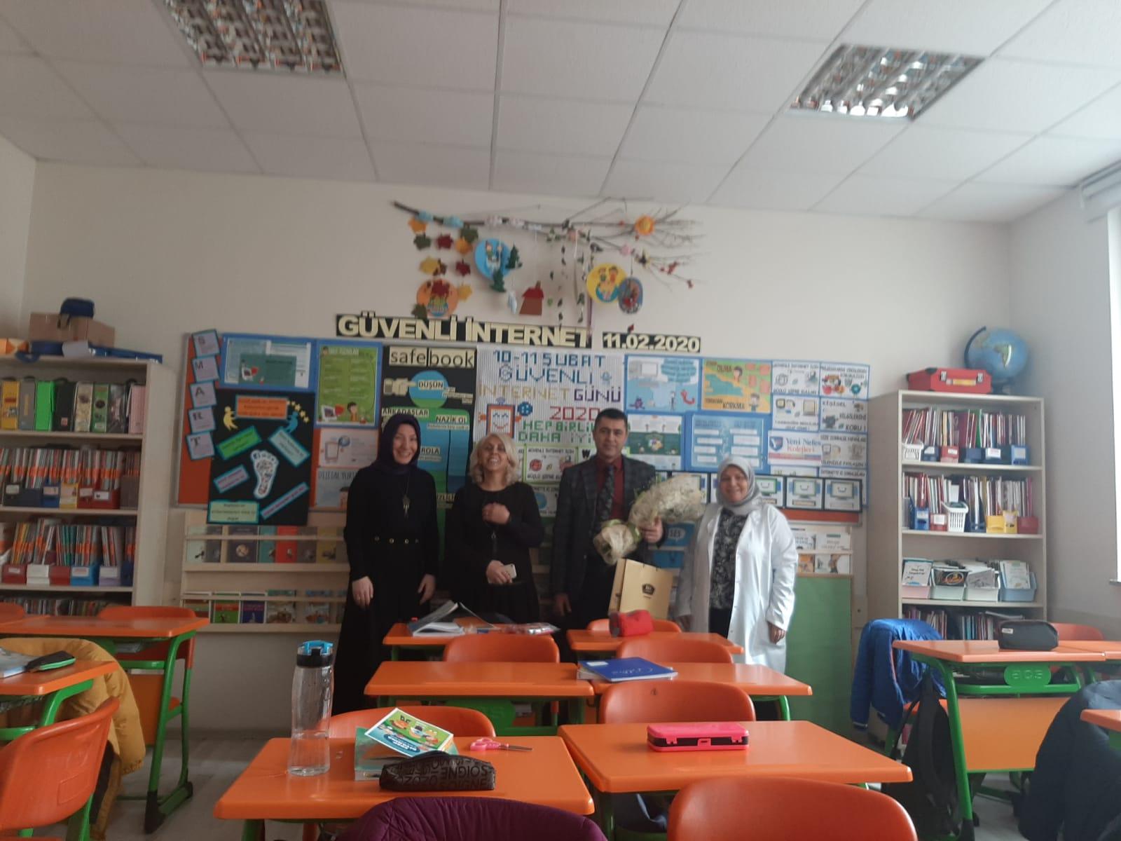 Ankara Keçiören Yeni Nefes Kolejinde, Güvenli ve Bilinçli İnternet Semineri