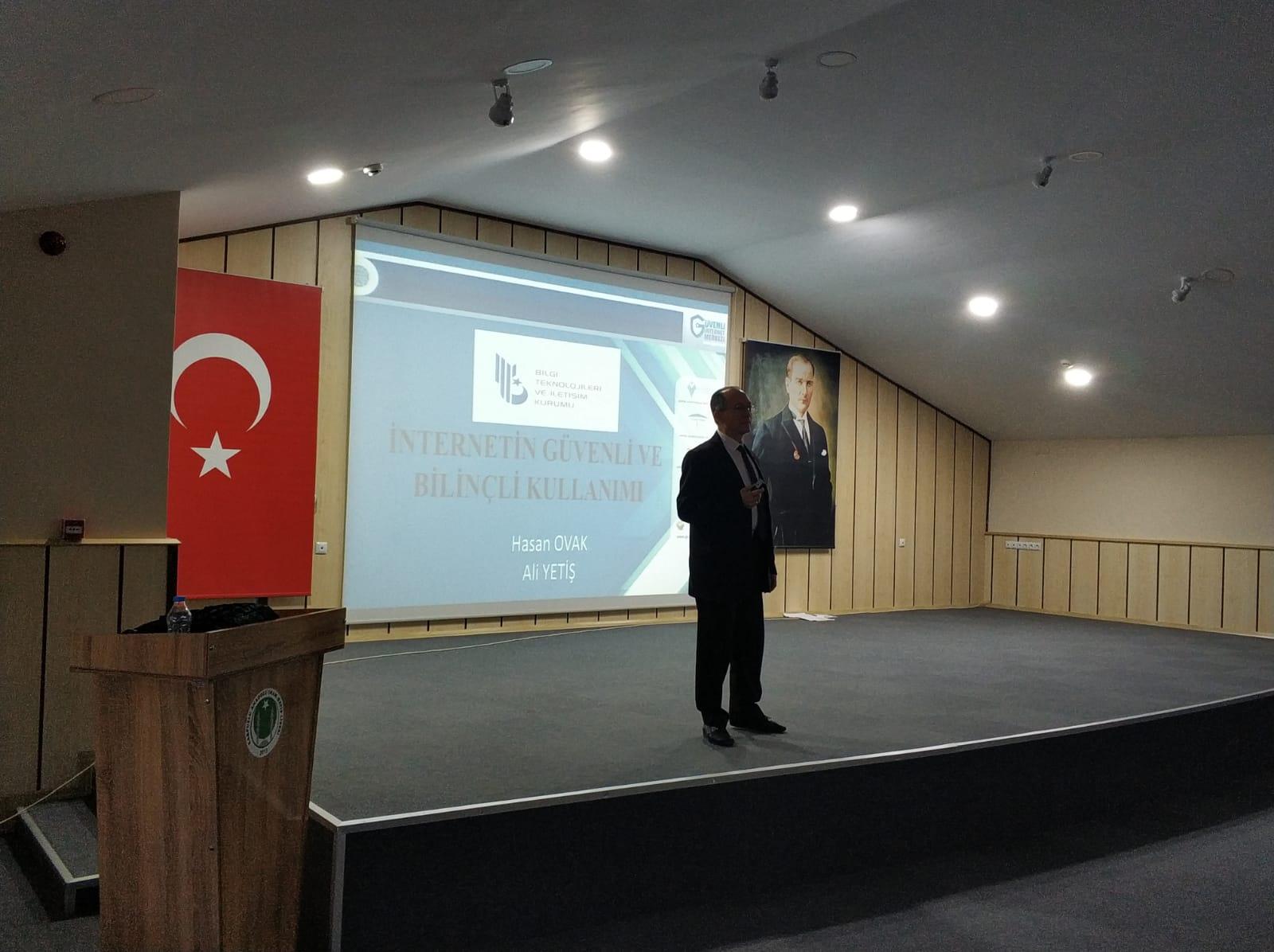 Aydın Karpuzlu Anadolu İmam Hatip Lisesi, Bilinçli Ve Güvenli İnternet Semineri