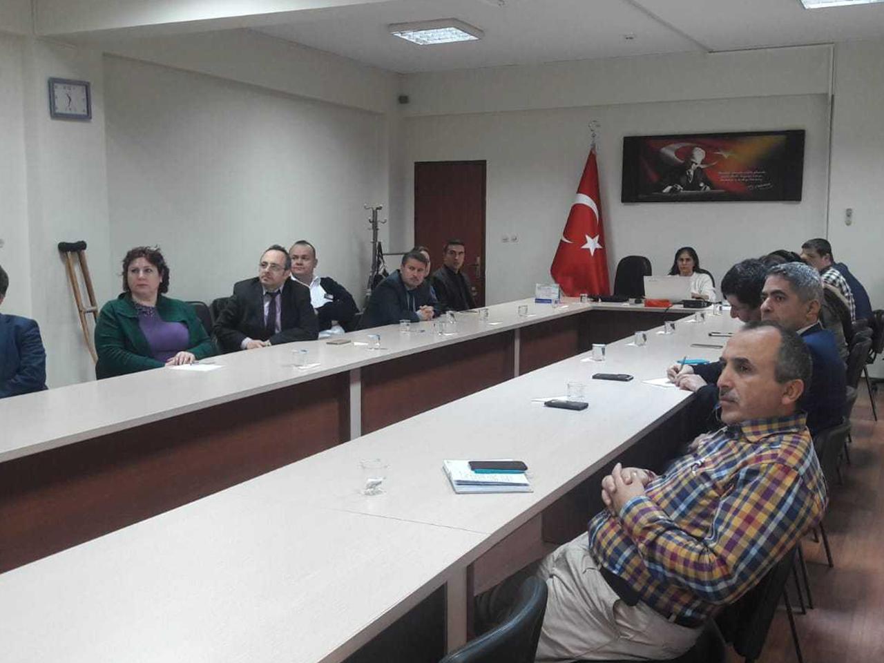 Zonguldak Alaplı Kaymakamlığında, Bilinçli Ve Güvenli İnternet Semineri