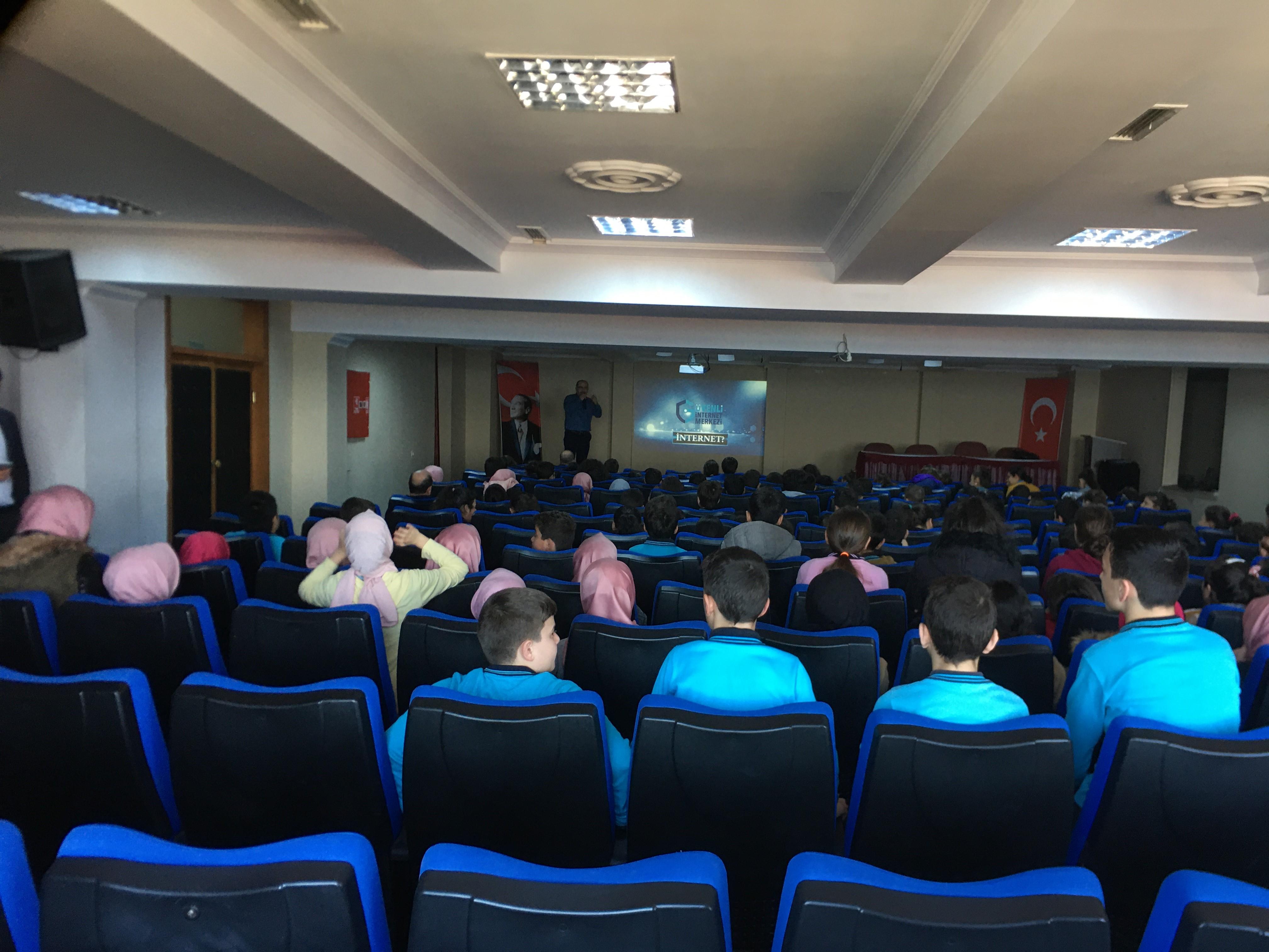 Rize, Fındıklı ve Çamlıhemşin Milli Eğitim Müdürlüğüne Bağlı Ortaokullara Yönelik, Bilinçli Ve Güvenli İnternet Semineri