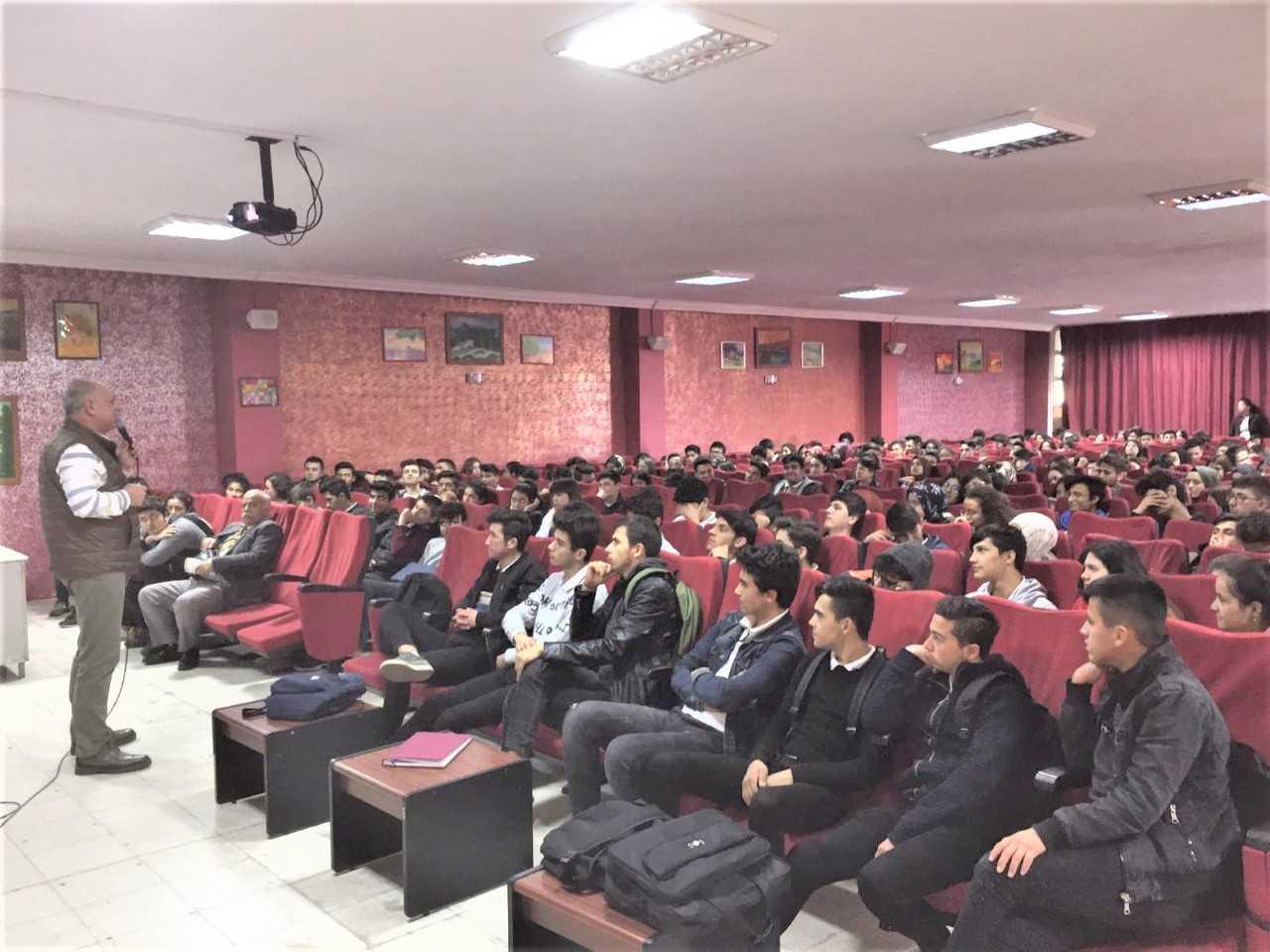 Mersin Erdemli , Erdemli Anadolu İmam Hatip Lisesi, Bilinçli Ve Güvenli İnternet Semineri