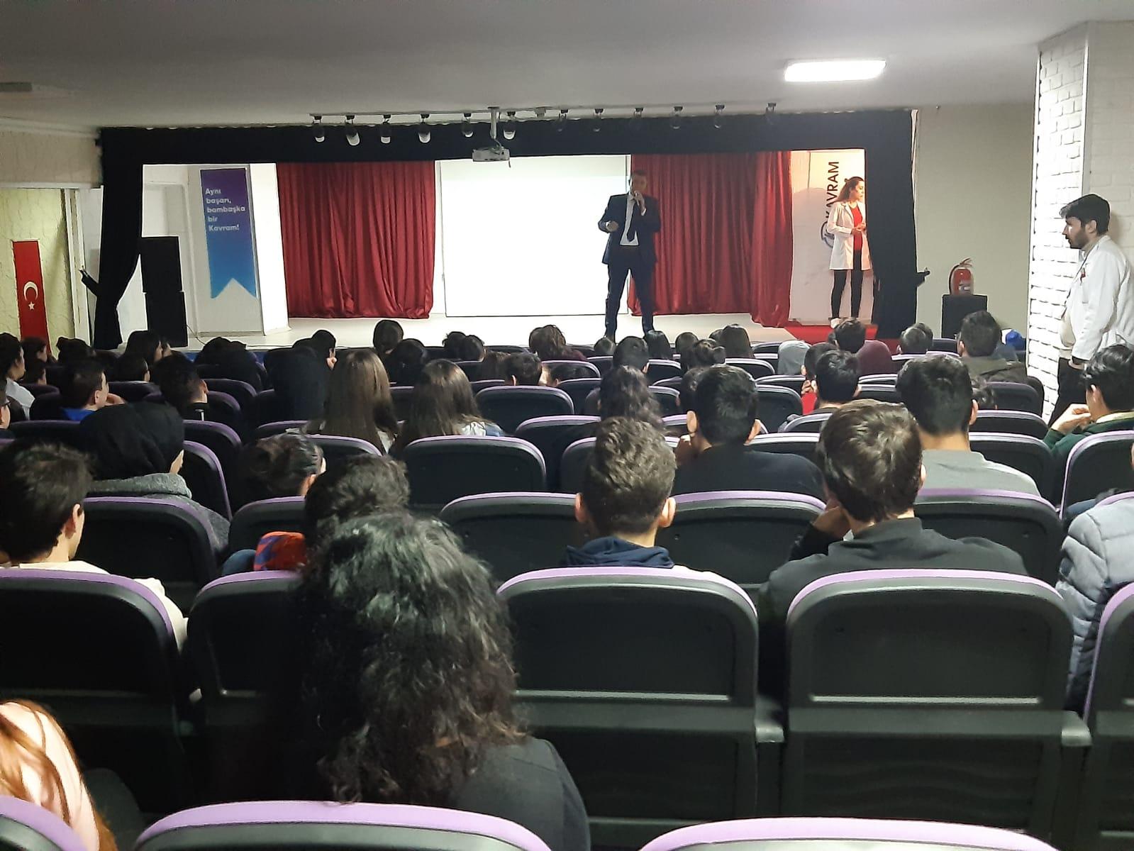 Ankara Sincan Kavram Okullarında, Bilinçli ve Güvenli İnternet Semineri